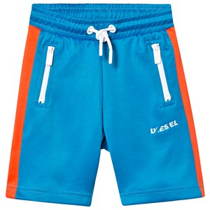 Image of Diesel Blue and Red Branded Tricot Shorts 4 years (1227906)