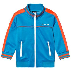 Image of Diesel Blue and Red Branded Tricot Track Jacket 14 years (1227890)