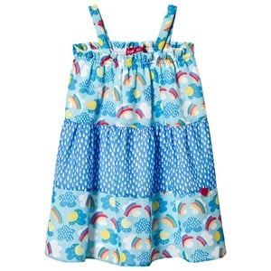 Image of Agatha Ruiz de la Prada Blue Rainbows Clouds Dress 12 years (1236976)