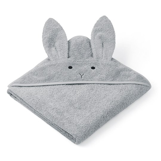 Liewood Augusta Hooded Towel Dumbo/Grey Dumbo grey