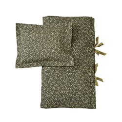 garbo&friends 150x210 Floral Moss Adult Bed Set