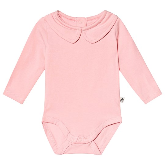 A Happy Brand Collar Baby Body Pink