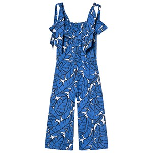 Image of MSGM Tropical Tie Jumpsuit Blue 4 years (1225390)