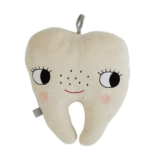 OYOY Tooth Fairy Cushion White