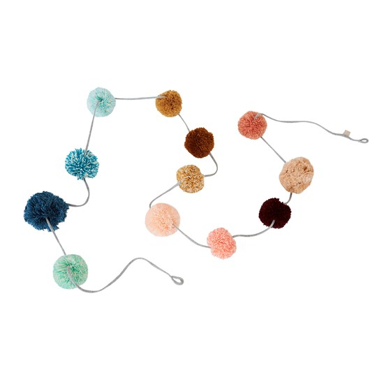 OYOY Pom-Pom Garland Multi color