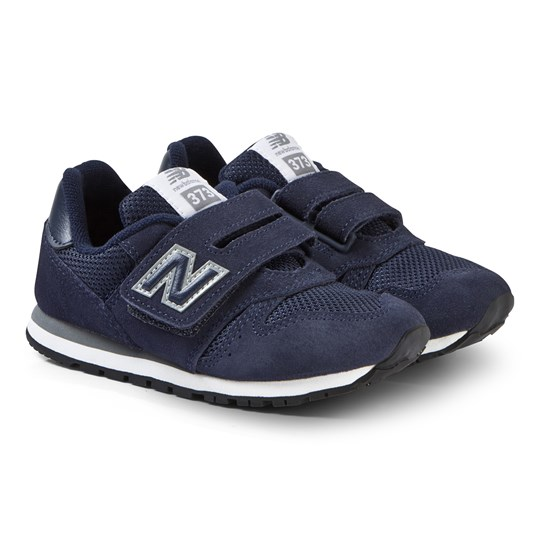 New Balance Navy Velcro Sneakers NAVY/GREY (432)