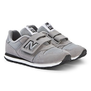 Image of New Balance Grey Velcro Sneakers 32 (UK 13) (3125317531)