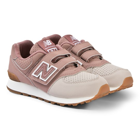 New Balance Dusty Pink Velcro Sneakers DARK OXIDE (710)