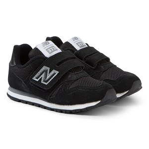 Image of New Balance Black Velcro Sneakers 32 (UK 13) (3125331081)