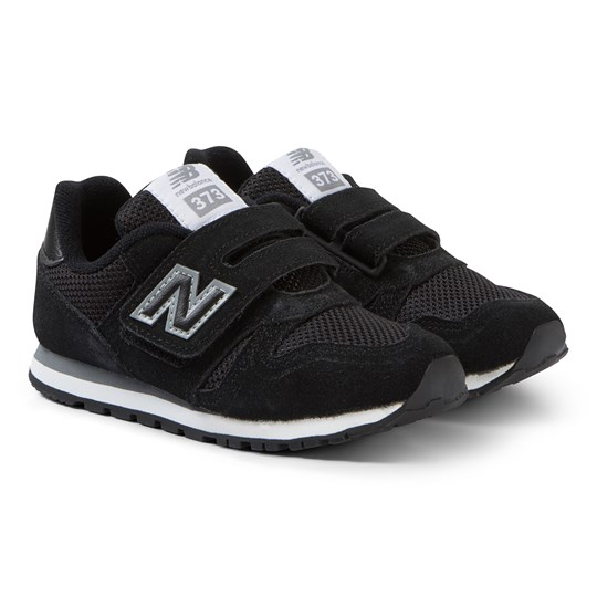 New Balance Black Velcro Sneakers BLACK/GREY (003)