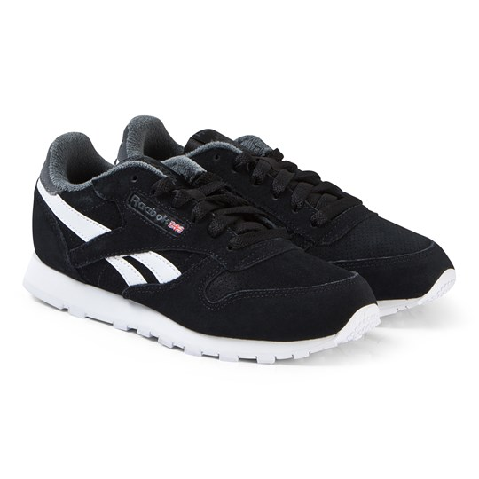 Reebok Black Classic Junior Sneakers ESTL-BLACK/TRUE GREY