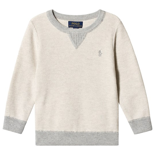 Ralph Lauren Grey Branded Sweatshirt 001