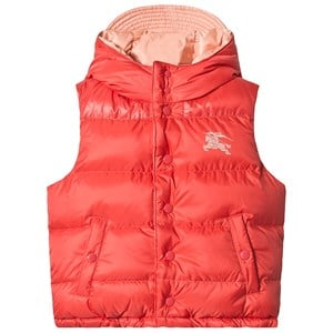 Image of Burberry Coral Pink Blue Reversible Gilet 14 years (3125260169)