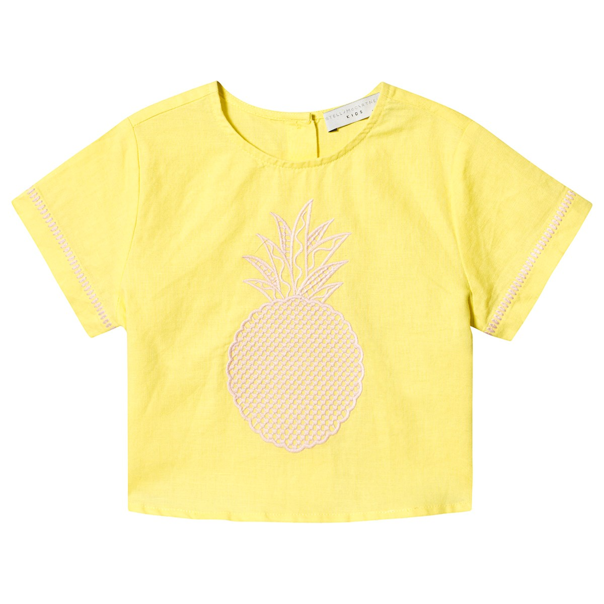 e0f53c612f9 Stella McCartney Kids - Yellow Pineapple Print Tee - Babyshop.com