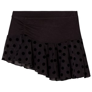 Image of Mirella Black Polka Dot Skirt 12-14 years (3125306093)