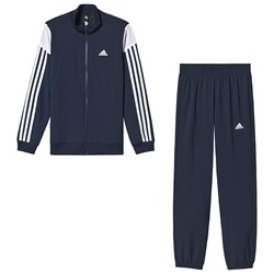 adidas Performance Navy and White Tracksuit
