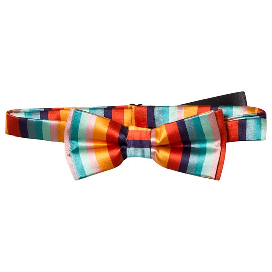 Paul Smith Junior Multi Artist Stripe Bow Tie 920
