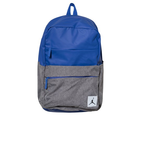 Air Jordan Blue and Grey Pivot Backpack U5H HYPER ROYAL