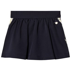 Image of Le Chic Navy Side Stripe and Glitter Skirt 104 (3-4 years) (1217719)