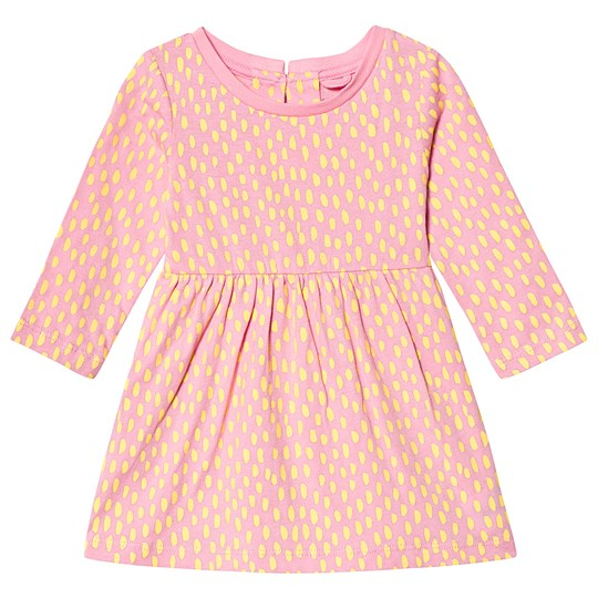 Stella McCartney Kids Pink Dots Baby Dress 6649 - Painted Dots On 4bas