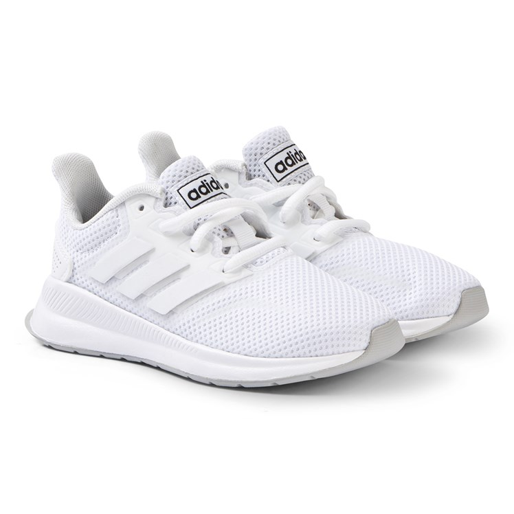 5c9041360bce adidas Performance. White RunFalcon Sneakers