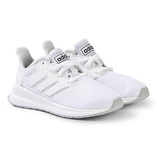 adidas Performance White RunFalcon Sneakers ftwr white/ftwr white/GREY TWO F17