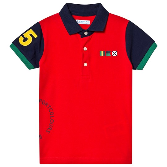 Mayoral Red Polo 10