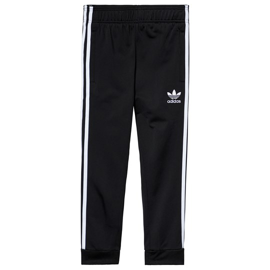 adidas Originals Black Branded Trackpants Black