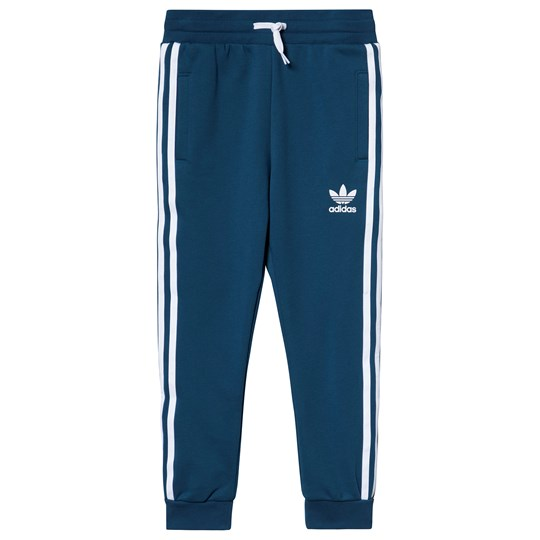 adidas Originals Blue Trefoil Logo Trackpants legend marine/white