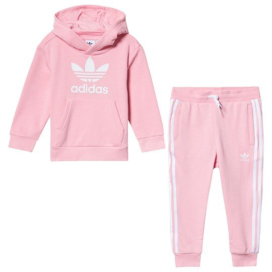 adidas Originals Спортивный костюм Light Pink Trefoil Tracksuit Top:light pink/white Bottom:LIGHT PINK/WHITE