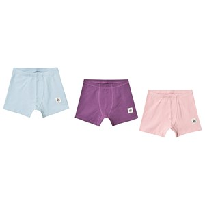 Image of A Happy Brand 3-Pack Boxers Pink/Turquoise/Purple 110/116 cm (3125280731)