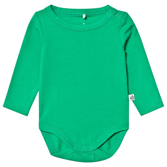 A Happy Brand Long Sleeve Baby Body Green