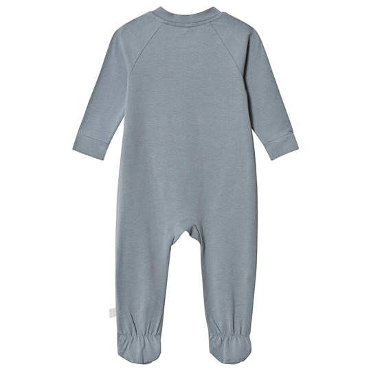 A Happy Brand Footed Baby Body Grey
