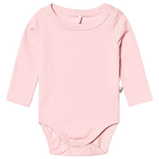 A Happy Brand Long Sleeve Baby Body Pink