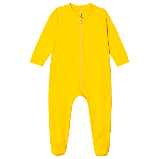 A Happy Brand Footed Baby Body Yellow