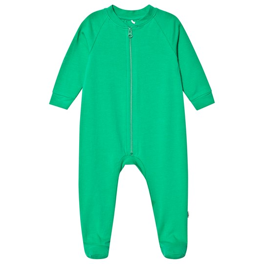 A Happy Brand Footed Baby Body Green