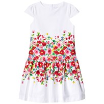 89d7667cea92 Chiffong Dans Klänning med Volanger Off White - DOLLY by Le Petit ...