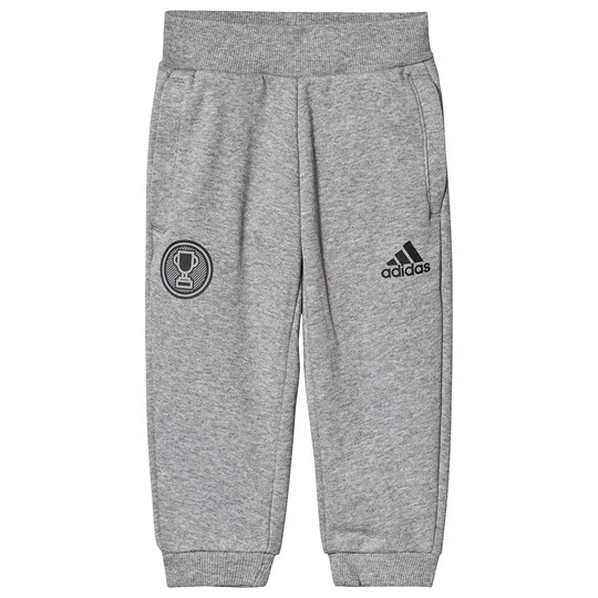 adidas Performance Grey Sweatpants CORE HEATHER