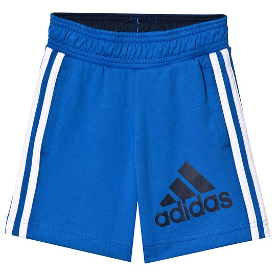 adidas Performance Blue Branded Track Shorts blue/collegiate navy