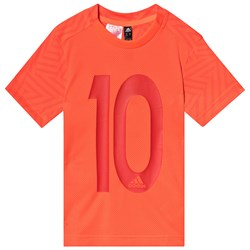 adidas Performance Red 10 Messi Tee
