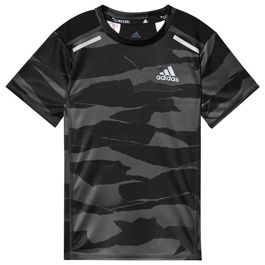 adidas Performance Charcoal Camo Tee grey six/carbon/black