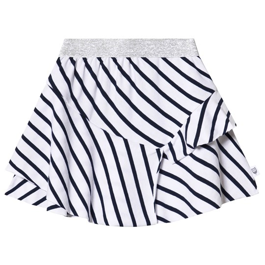 Hootkid Navy and White Striped Skirt Navy/White Stripe