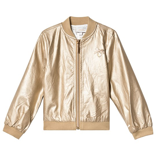 Le Chic Gold Bomber Jacket 420