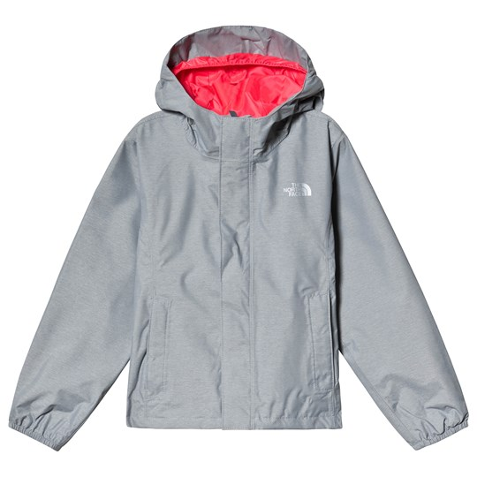 The North Face Silver Grey Resolve Reflective Jacket MID GREY HEATHER