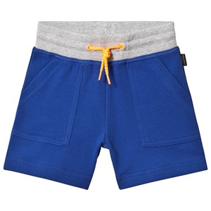 Image of Little Marc Jacobs Blue and Grey Sweat Shorts with Back Pocket 10 years (3125268633)