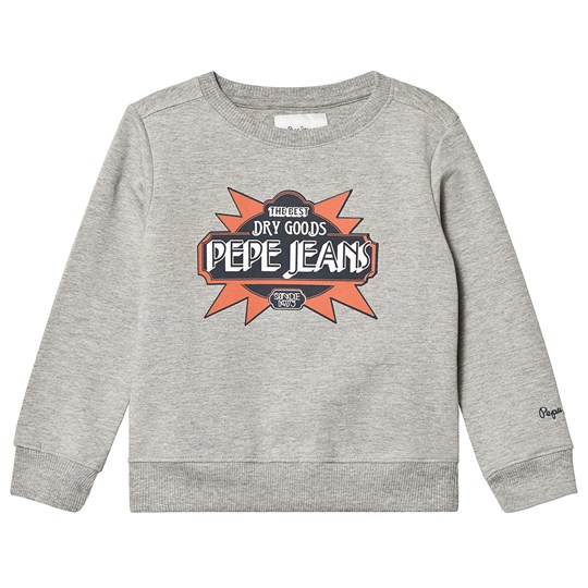 Pepe Jeans Grey Helmer Branded Sweater 933
