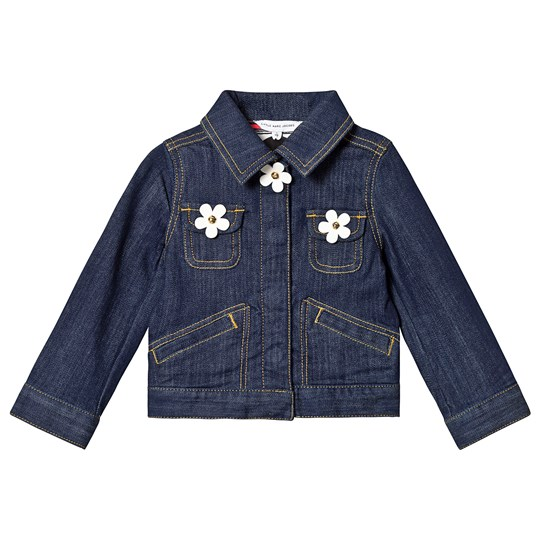 Little Marc Jacobs Denim Jacket with Daisy Buttons A43