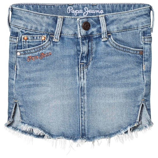 Pepe Jeans Light Wash Sadie Denim Skirt 000