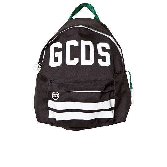 GCDS Black and White Logo Backpack 110
