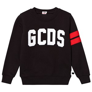 Image of GCDS Black Logo Sweatshirt 10 Years (3125271323)